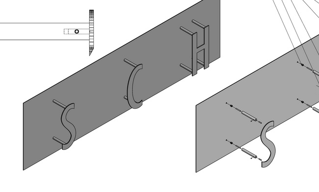 metall werk z rich ag fassadenbeschriftung schmuklerski. Black Bedroom Furniture Sets. Home Design Ideas