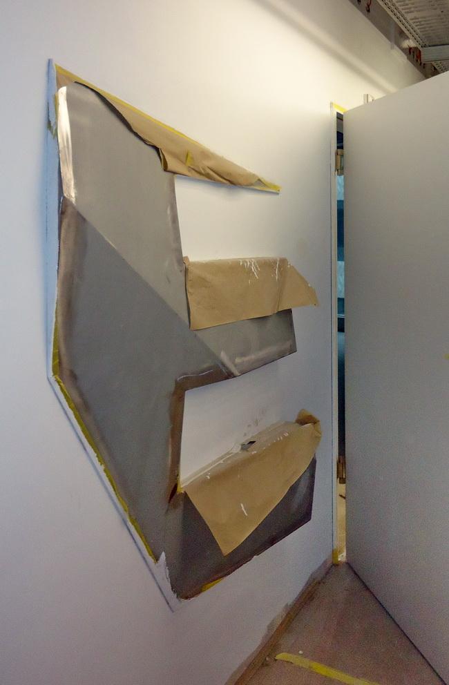 metall werk z rich ag dreidimensionale buchstaben zur orientierung im toni areal. Black Bedroom Furniture Sets. Home Design Ideas