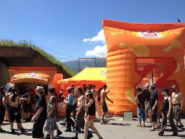 Wirbelwindbox Chips Luft Festival Spiel Open-Air