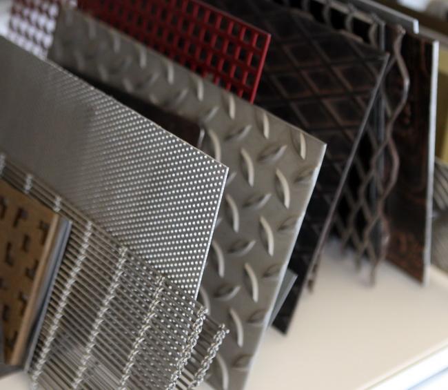 metall werk z rich ag ausstellung sammlung von materialmuster. Black Bedroom Furniture Sets. Home Design Ideas